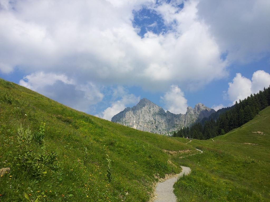 Die Tannheimer Berge bei Reutte Tirol