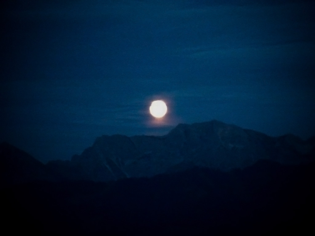 Vollmond am Ofterschwanger Horn